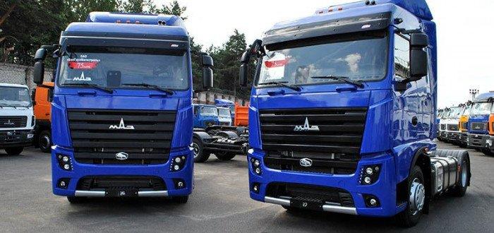 Передача очередной партии грузовых автомобилей МАЗ-5440М9 экологического класса Евро-6