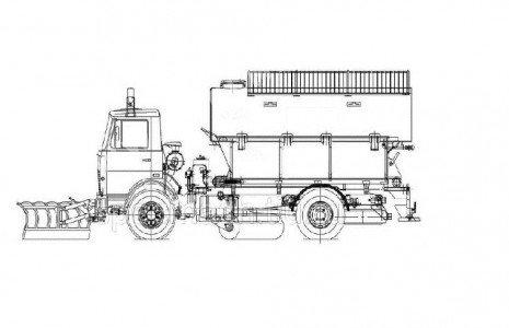 Комбинированные дорожные машины (КДМ)